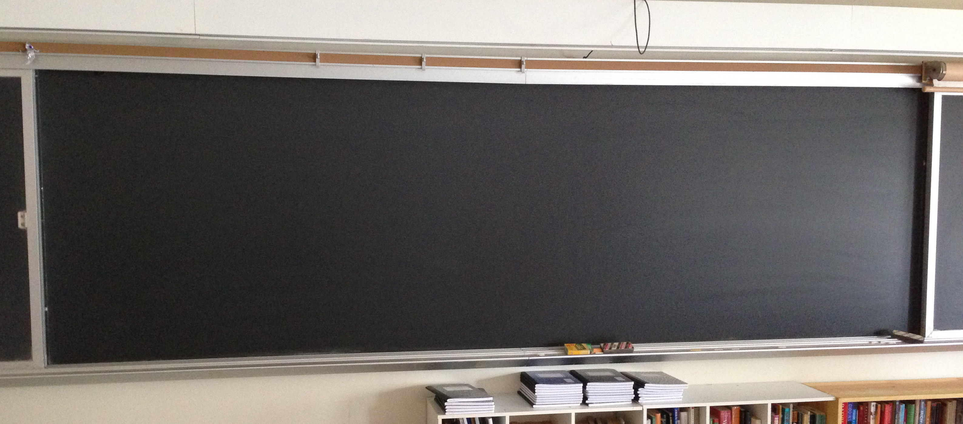 Blackboard Innovative Classroom ~ Palimpsest and pentimento nexus