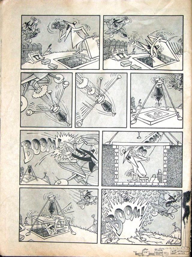 Spy vs Spy January 1971 Prohias pg2