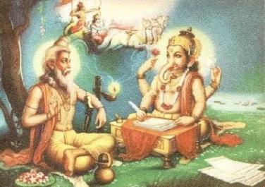 sage ved vyasa & Ganeshji