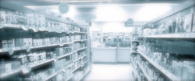 TARGET PHARMACY DRUG STORE Counter Aisles, Target Store Pharmacy Drug Department