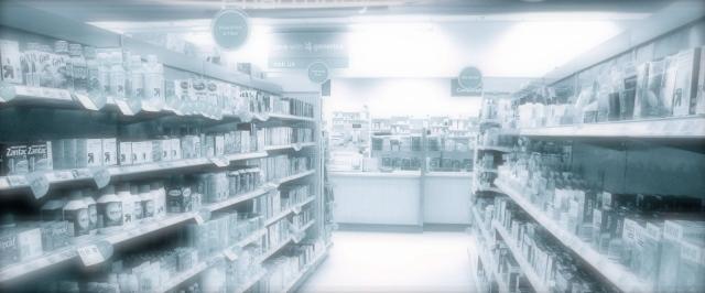 TARGET PHARMACY DRUG STORE Counter Aisles, Target Store Pharmacy Drug Department