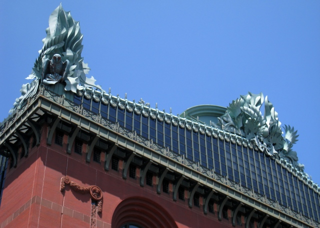 Harold_Washington_Library,_Chicago,_IL_-_roof_detail